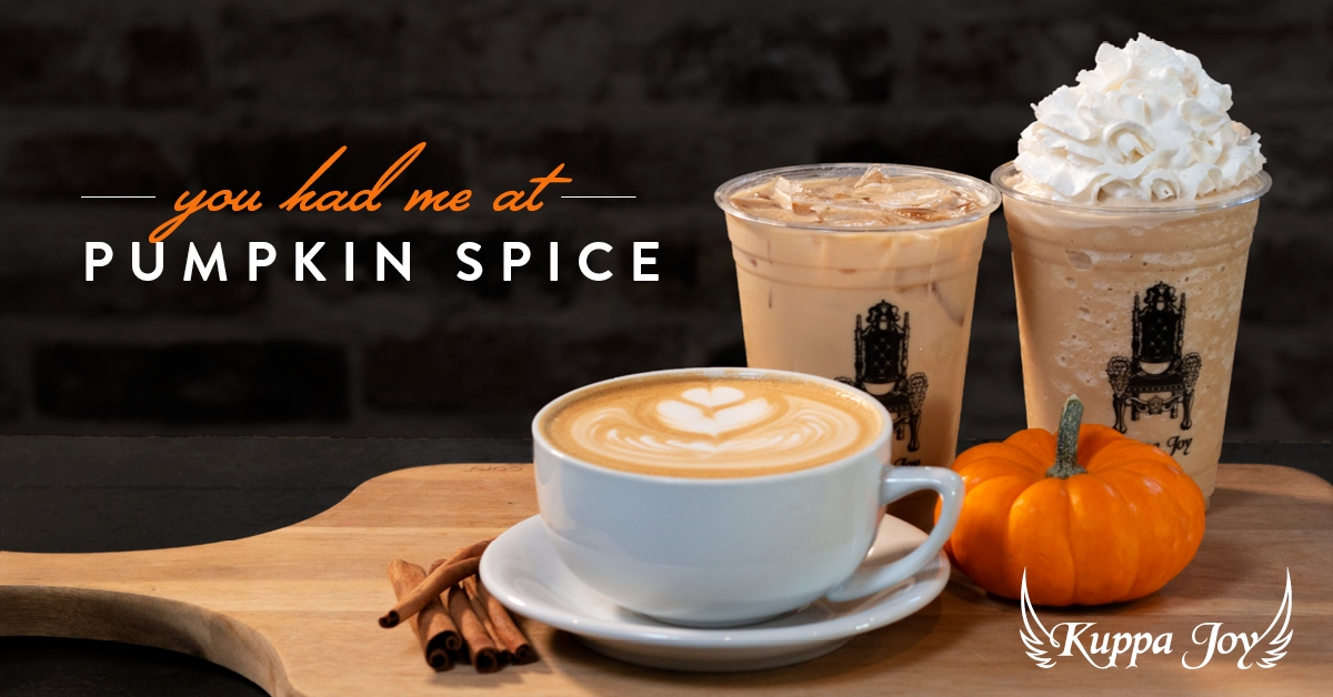 Kuppa Joy Pumpkin Spice Latte Featured